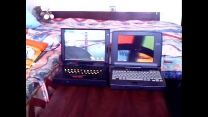 Два стари лаптопа