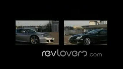 Porsche Carrera GT Vs Mclaren SLR