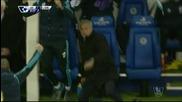 Какво прави Жозе, когато Челси води в резултата?