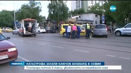 """Катастрофа спря движението на трамваи по """"Шипченски проход"""""""