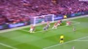 Nemanja Vidic Goal Vs Bayern Munich Manutd 1-1 Bayern Champions League