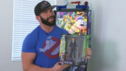 "Zack Ryder gets slimed by Diamond Select Toys' ""Ghostbusters"" Series 4 action figures: WWE Unboxed with Zack Ryder"