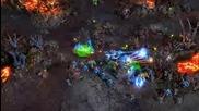 StarCraft 2 Zerg GamePlay Movie 9min