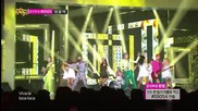 Led Apple ( feat. Kang Yebin ) - Bad boys @ Music Core [ 22.06. 2013 ] H D
