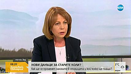 Фандъкова: Най-сериозният проблем през зимата е битовото отопление