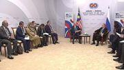 Russia: Putin meets Malaysian PM on sidelines of ASEAN-Russia summit in Sochi