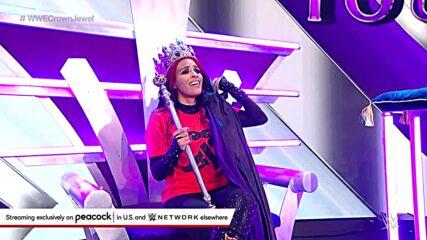 Zelina Vega dons the Queen's Crown: WWE Crown Jewel 2021 (WWE Network Exclusive)