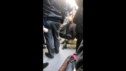 Малко забавление в софийското метро, 2016