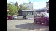 Как обръщат автобусите по 306