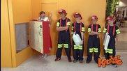 Деца пожарникари - Скрита камера