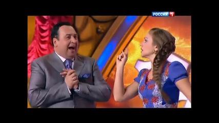 Марина Девятова в Новогоднем параде звезд 2013