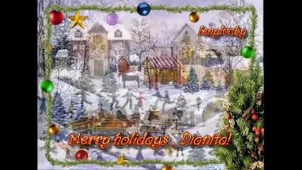 Upon A Christmas Night/merry Holidays, Dianita!