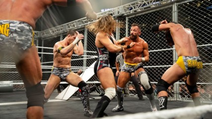 Ricochet, Pete Dunne & War Raiders vs. Undisputed ERA – WarGames Match: NXT TakeOver: WarGames 2018 (Full Match)