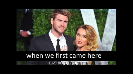 #say my name.! ++ Miley & Liam.