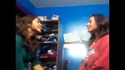 Dani's & jenny's slap fight xp