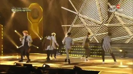 150122 Got7 - Intro Stop Stop It 24th Seoul Music Awards [1080p]