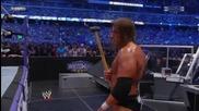 Triple H vs Undertaker - No Holds Barred 4/4 - Wrestlemania27
