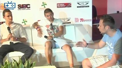 Afk Tv Финали на Eps - Интервю с капитаните на Lol отборите Crossfire Gaming и Obicham Parjoli