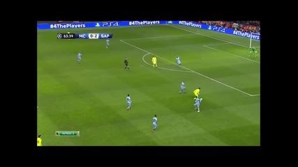 24.2.2015 Манчестър Сити-барселона 1-2 Шампионска лига 1/8 финал първа среща
