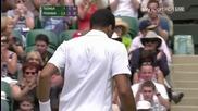 2011 Wimbledon Federer Vs Tsonga Qf Highlights