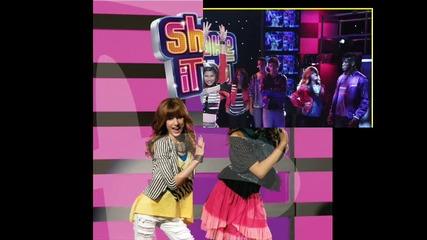 Selena Gomez - Shake it up , Hot Rush - Watch me