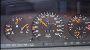 E320 W124 Mercedes-benz 100-215 km/h Acceleration