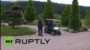 Germany: Merkel welcomes world leaders ahead of G7 Outreach Meeting