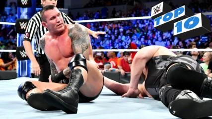 Топ 10 момента от Разбиване: WWE 9.10.2018