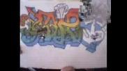 Graffiti  Saw Want Wast I Sart