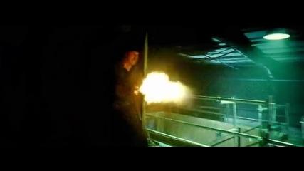 Непобедимите 2 - Барни Рос ( Силвестър Сталоун ) срещу Вилайн ( Жан-клод Ван Дам )