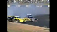 Best Drifting Ever,  At World Drifting Championships - 900hp V8 Monaro vs Toyota Ae86