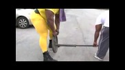 Рони Колман - тежащ 160 килограма - част - 4