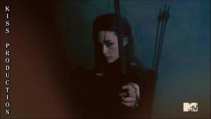 Ти ме поваляш , но аз се изправям отново , защото съм титан ^ Allison Argent ^ Teen Wolf ^