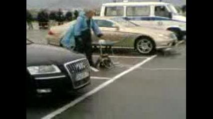 Audi S8 Vs Mercedesa Na Lecata