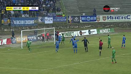 Ботев Враца - Левски 0:0 /първо полувреме/