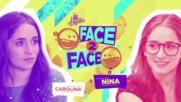 Soy Luna 3 - Лице в лице - Каролина и Нина + Превод