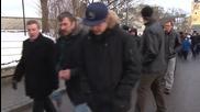 Estonia: Anti-EU protesters march against refugee quotas in Tallinn