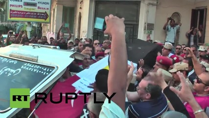 Egypt: THOUSANDS attend funeral for Sinai attack victim