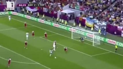Дания - Португалия 2-3