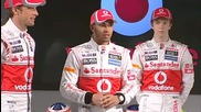 Vodafone Mclaren Mercedes Mp4-27 Presentation 2012