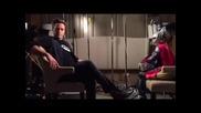 Robert Downey Jr - Asgardian micro-journalism at its finest. #ageofultron #presstour