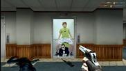 Gangnam Style и Чък Норис се появиха и на играта cs - Много смях