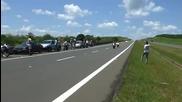 R1 x Srad 300km h na Bandeirantes Part2
