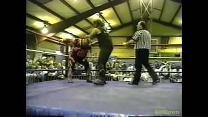 Cactus Jack vs. Bam Bam Bigelow - Ecw Just Another Night 1996