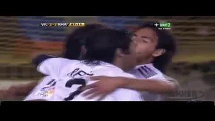 Виляреал постигна победа с 3:2 срещу плачевно изглеждащия тим на Реал Мадрид 16.05.2009