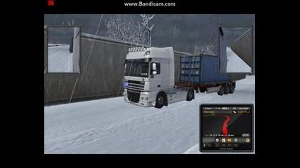 Euro Truck Simulator2 drive whit Daf Xf