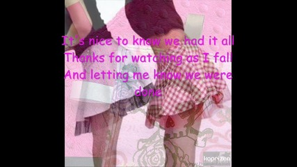 Avril Lavin - My Happy Ending Instrumental + Lyrics кой иска да попее ?