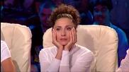Тази жена втрещи публиката и участниците в залата!-x Factor (09.09.2014)