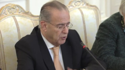 Russia: Lavrov meets Cypriot FM Kasoulidis to discuss bilateral relations