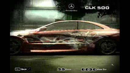 Nfs Most Wanted Mercedes Clk 500